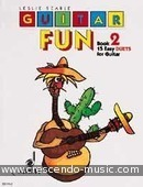 Guitar fun - 2 (15 easy duets). Searle, Leslie