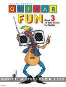 Guitar fun - 3 (15 easy trios). Searle, Leslie