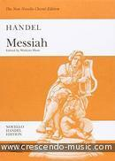 Messiah (Vocal score). Haendel, Georg Friedrich