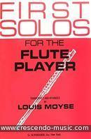 First solos for the flute player. Album
