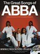 The great songs of Abba. Abba