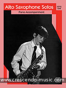 Alto saxophone solos - Level 1 (Pno acc). Album