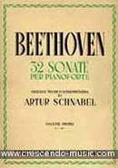 32 Sonate per Pianoforte - Vol.1 (1-12). Beethoven, Ludwig van