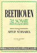 32 Sonate per Pianoforte - Vol.2 (13-23). Beethoven, Ludwig van