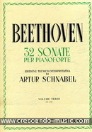 32 Sonate per pianoforte - Vol.3. Beethoven, Ludwig van