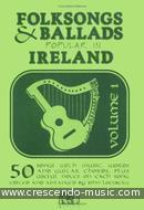 Folksongs and Ballads popular in Ireland - Vol.1. Album