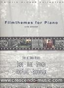 View a sample page! Filmthemes for piano - Brossé, Dirk