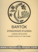 Young people at the piano - 1. Bartok, Bela