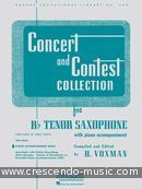 Concert and contest collection (Pno acc). Album