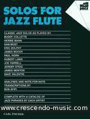 Solos for jazz flute. Album