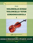 Violoncello Tutor - Vol.1. Friss, Antal