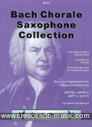 Bach chorale saxophone collection. Bach, Johann Sebastian