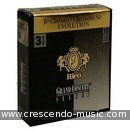 Clarinet reeds 3 Evolution . Rico Grand Concert Select Evolution