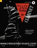 The jazz method for clarinet (Book & CD). O'Neill, John