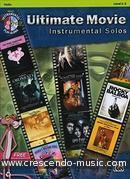 Ultimate Movie Instrumental Solo's (With cd). Album