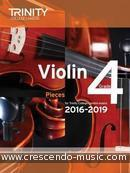 Trinity Violin Exam Pieces Grade 4 (2016-2019). Album
