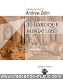 View a sample page! 30 Baroque Miniatures - Album
