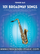 101 Broadway Songs for Tenor Sax. Album