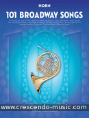 101 Broadway Songs for Horn. Album