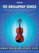 101 Broadway Songs for Violin. Album