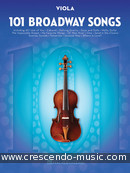 101 Broadway Songs for Viola. Album