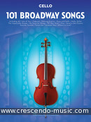 101 Broadway Songs for Cello. Album