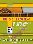 First lessons for guitar. Sagreras, Julio S.