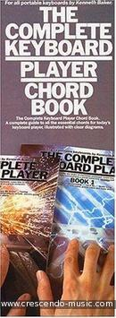 The complete keyboard player chord book. Baker, Kenneth