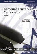View a sample page! Berceuse triste, canzonetta - Aerts, Hans