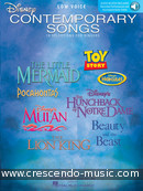 Disney Contemporary Songs (Low voice). Album