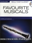 Really Easy Clarinet: Favourite Musicals. Album