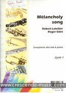 View a sample page! Melancholy song - Letellier, Robert
