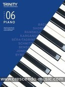 Trinity Piano Exam Pieces & Exercises 2018 - 2020 (Grade 6). Album