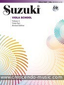 Suzuki Viola School - Vol.4 (Revised) (Viola part & CD). Suzuki, Shinichi