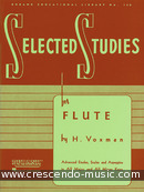 Selected studies for flute. Voxman, Howard