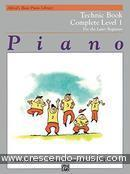 View a sample page! Technic book - 1 Complete - Alfred's Basic Piano Library