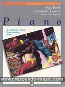 View a sample page! Fun book - 1 Complete - Alfred's Basic Piano Library