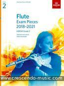 Flute Exam Pieces 2018-2021 - Grade 2 (Score & part). Album