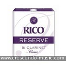 Clarinet reeds Reserve Classic 3,5 (10 st.). Rico