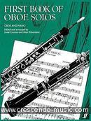 First book of oboe solos. Album