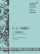 Concertino in Eb major, Op.5. Müller, Christian Gottlieb