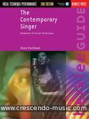 The Contemporary Singer (2nd edition). Peckham, Anne