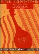 Method for mandolin - Vol.2. Cristofaro