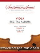Viola Recital Album, Vol.1. Album