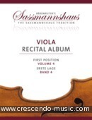 Viola Recital Album, Vol.4. Album
