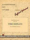 Trio-Sonate. Telemann, Georg Philipp