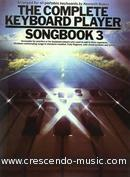 The compl keyb player - Songbook 3. Album