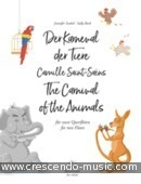 The Carnival of the Animals for Two Flutes. Saint-Saëns, Camille