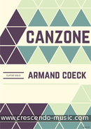 View a sample page! Canzone - Coeck, Armand