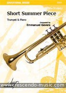 View a sample page! Short summer piece - Gevers, Emmanuel